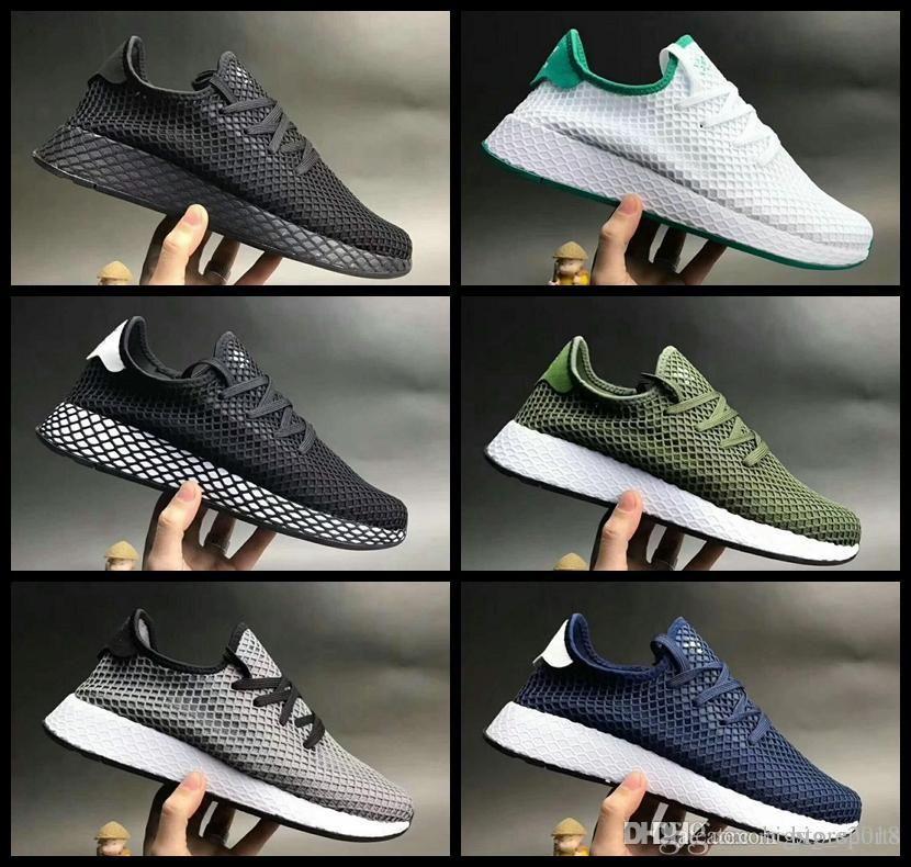 7a511a20047a 2018 DEERUPT RUNNER Shoes Pharrell Williams III Stan Smith Tennis HU KPU  Designer Mesh Running Zapatos Trainers Chaussures Sneakers 36 44 Cheap  Running ...