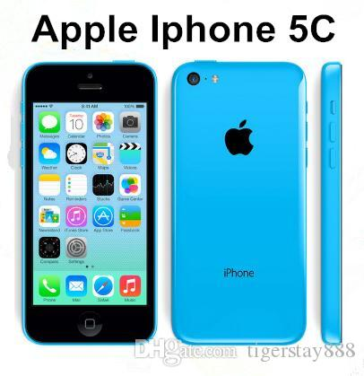 Original Apple iPhone 5C Dual Core iOS 1G/RAM 16G/32GROM iphone5c 8MPCamera WIFI GPS Cell Phone The original refurbished phone