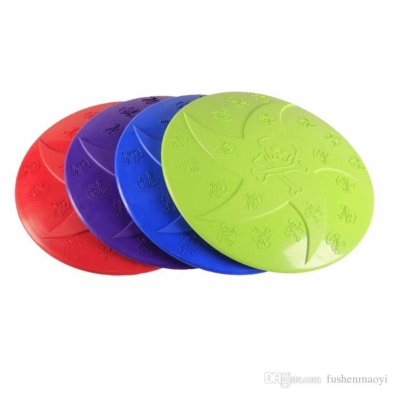 Köpek Frizbi Oyuncaklar Yumuşak Doğal Kauçuk Disk Köpek Uçan Diskler Aerodinamik Tasarım Açık Uçuş Köpek Için Interaktif Oyuncaklar