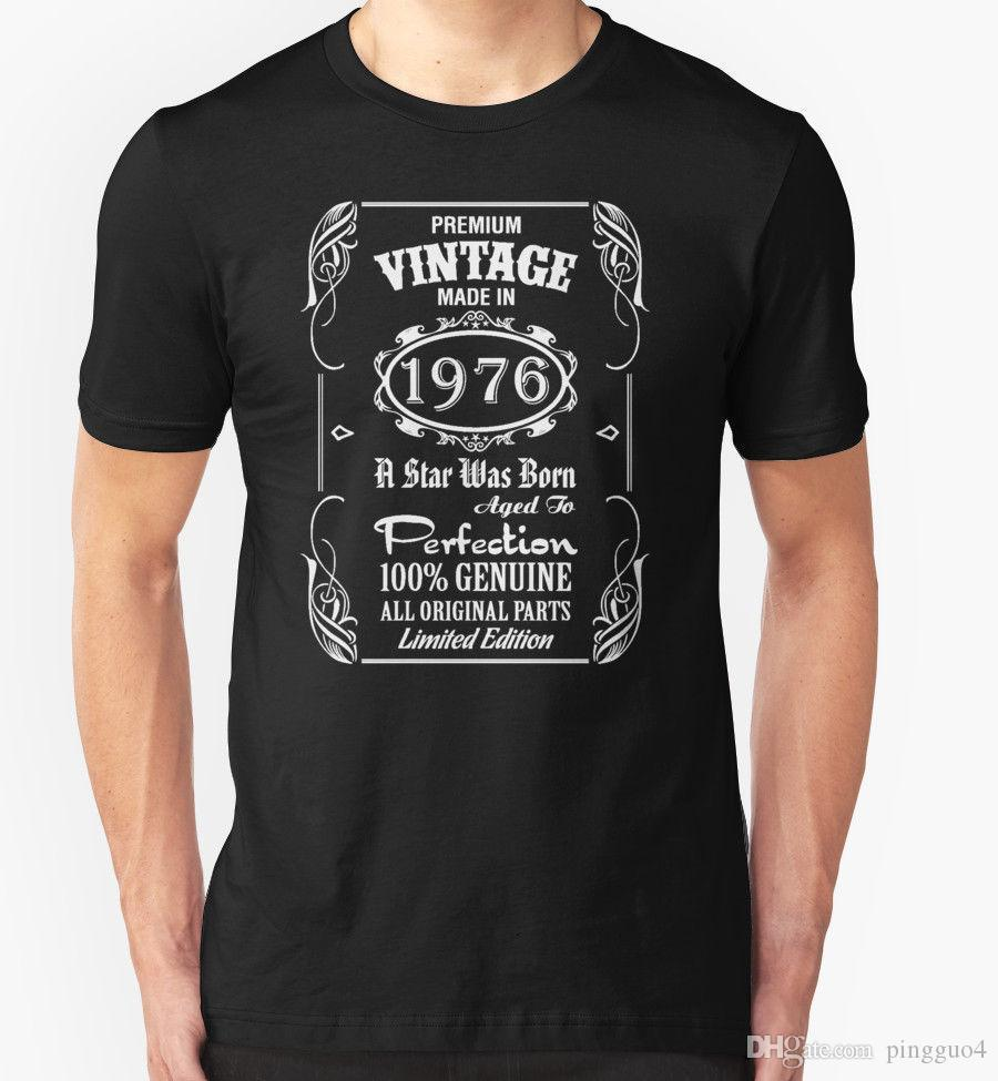 7af86308 Made in 1956 T Shirt 60th Year Birthday Age Present Vintage Funny T-Shirt T  Shirt Novelty Cool Tops Men'S Short Sleeve