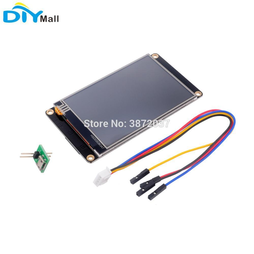 Nextion Enhanced 3 5 NX4832K035 480x320 Resistive Touch Screen HMI UART  Smart Display Module for Arduino Raspberry Pi ESP8266