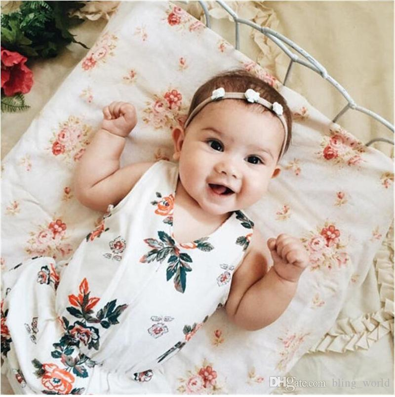3f3d19a6726 Baby Girls Rose Flower Headband Kids Ribbon Rose Bows Hairband Infant Girls  Hair Bow New Born Baby Photography Props Photo Tools LM31 Cute Hair  Accessories ...