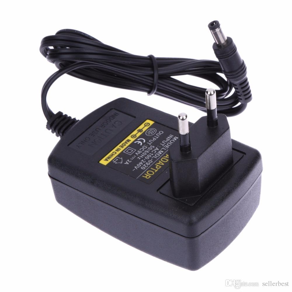 Convertitore AC 100-240V Adattatore DC 5.5mm x 2.5MM 9V 2A 2000mA Caricatore Alimentatore Switching Spina EU