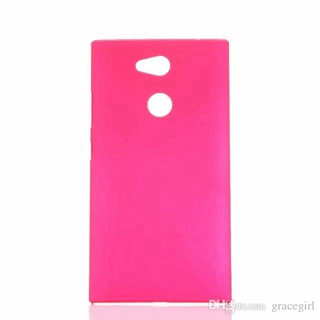 Rubberized Matte Hard PC Case For Sony Xperia L2 M5 Huawei Honor V10 Enjoy 7S 9 Pro Redmi 5 Plus 5A Colorful Oil Matt Cover Phone Back