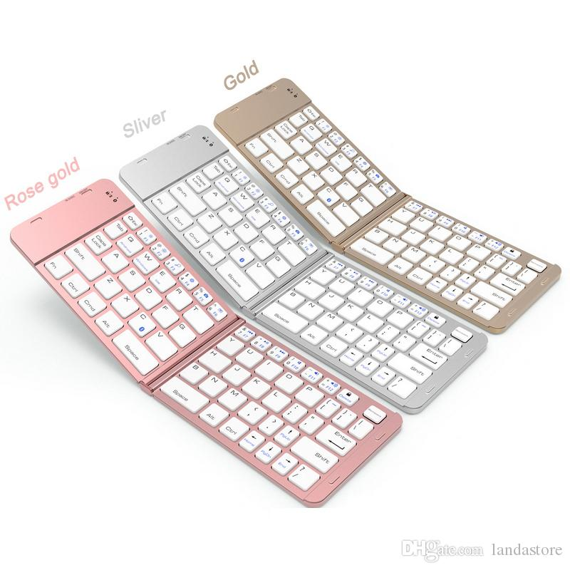 Bluetooth 3.0 Wireless Keyboard for Apple ios smart Tablet PC For iPad Keyboard for phone Notebook Desktop Computer