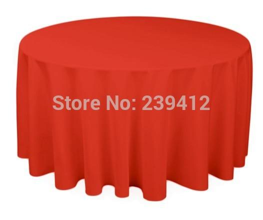 Charmant 120 Round 210GSM Red Polyester Plain Table Cloth For Weddings Events  U0026Banquet U0026Party Decoration Table Cloth Decoration Table Cloth For Party  Cloth For Table ...