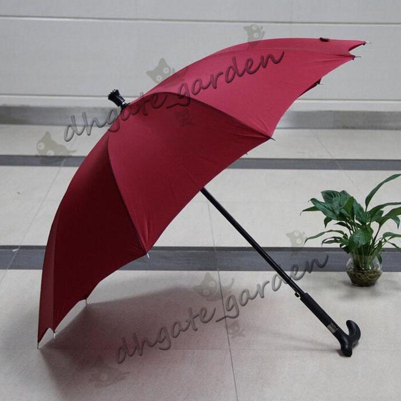 الإبداعية المضادة للانزلاق في تسلق عكاز المشي عصا المظلات مظلات المطر يندبروف 10 كيلو هدية ل العجوز
