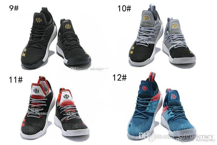 0da2c3901351 2018 New JAMES HARDEN VOL 2 VISION STAR EXCLUSIVE Kids Women Men Basketball  Shoes Tumbled Leather Training Sneakers