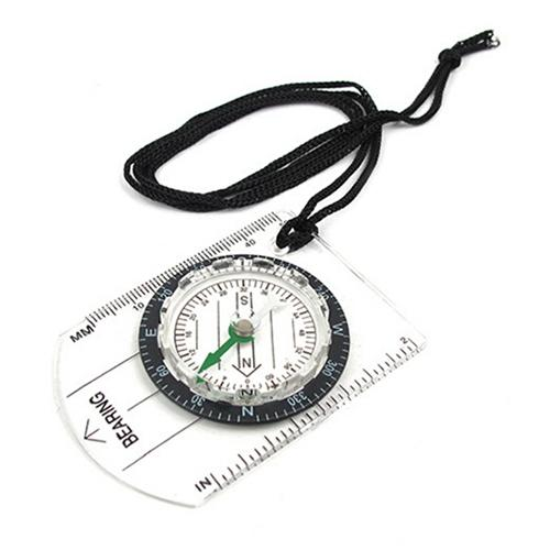 Professional Mini Compass Map Scale Ruler Multifunctional Equipment ...