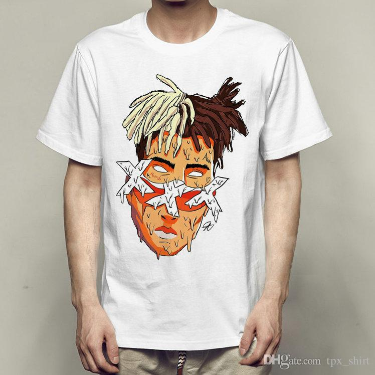 Compre Xxxtentacion Camiseta XXX Tentación De Manga Corta Vestido Rap  Cantante Camisetas Ropa De Impresión Ocasional Calidad Moda Camiseta A   15.06 Del ... 8fbdc0d15f4