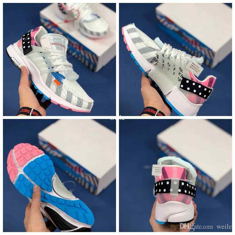 2018 New Piet Parra X Presto Netherland Multi Rainbow White Running Shoes  For Men Prestos Off Sports Chaussures Mens Air Trainers Sneakers Presto  Running ... ff5e9062b