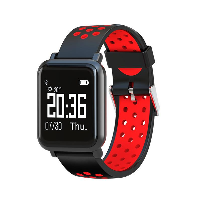 2018 Smart Cardíaca Hombres De Smartwatch Sn60 Ip68 50 Q8 Fitness Watch Fundo Frecuencia Waterproof App Pk Metros Deep Mujeres Tracker Monitor 8wkXnOP0