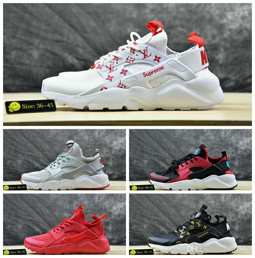 huge selection of 601d7 073c4 2017 Fashion Huarache ID Custom Breathe Running Shoes For Men Women,Mens  Navy Blue Tan Denim Air Huaraches Multicolor Huraches Sneakers Shoe Shop  Cute Shoes ...