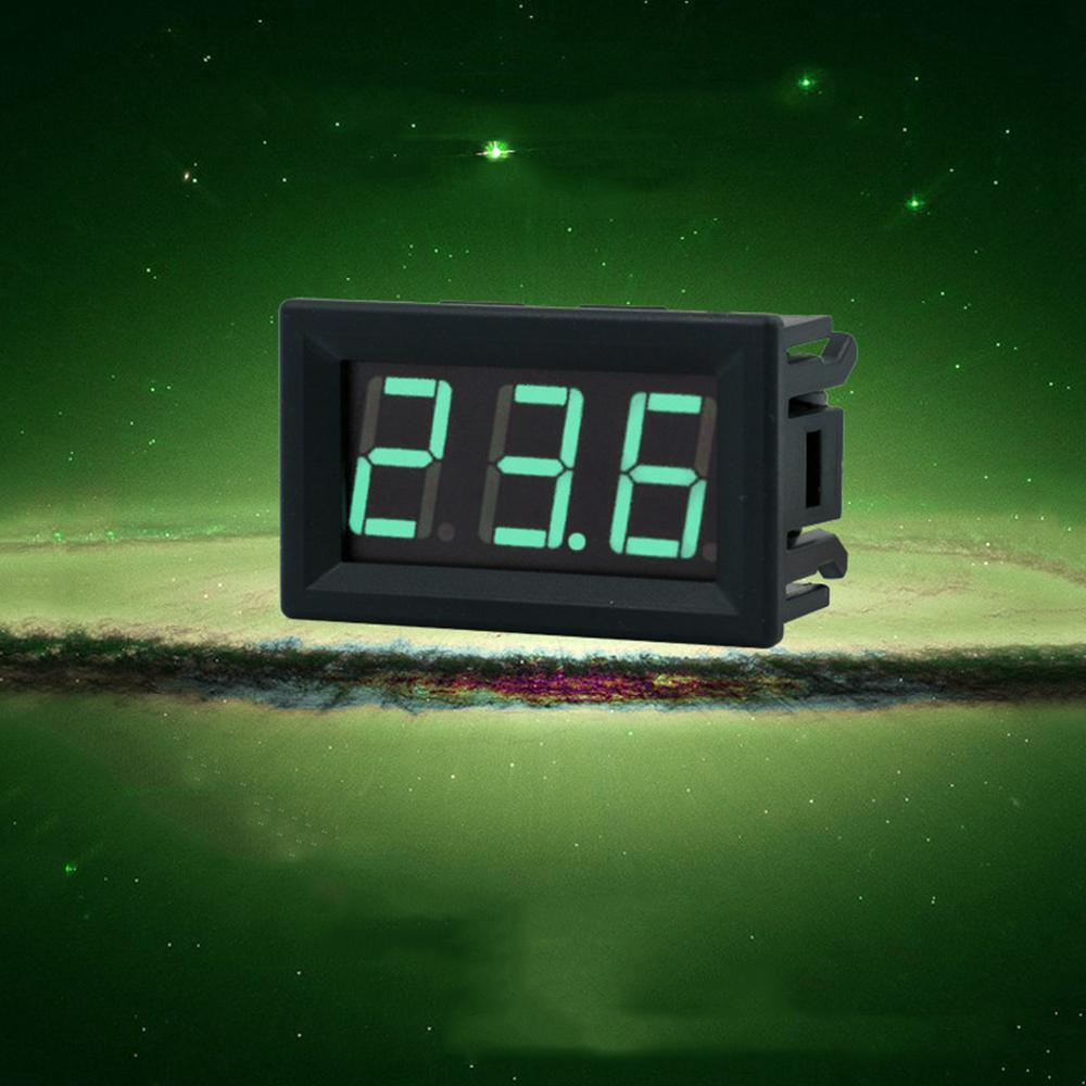 2 Tel Mini LED Dijital Ekran Voltmetre DC 2.5-30 V Pil Test Cihazı LED Amp Dijital Volt Metre Ölçer Teşhis Araçları AAA291