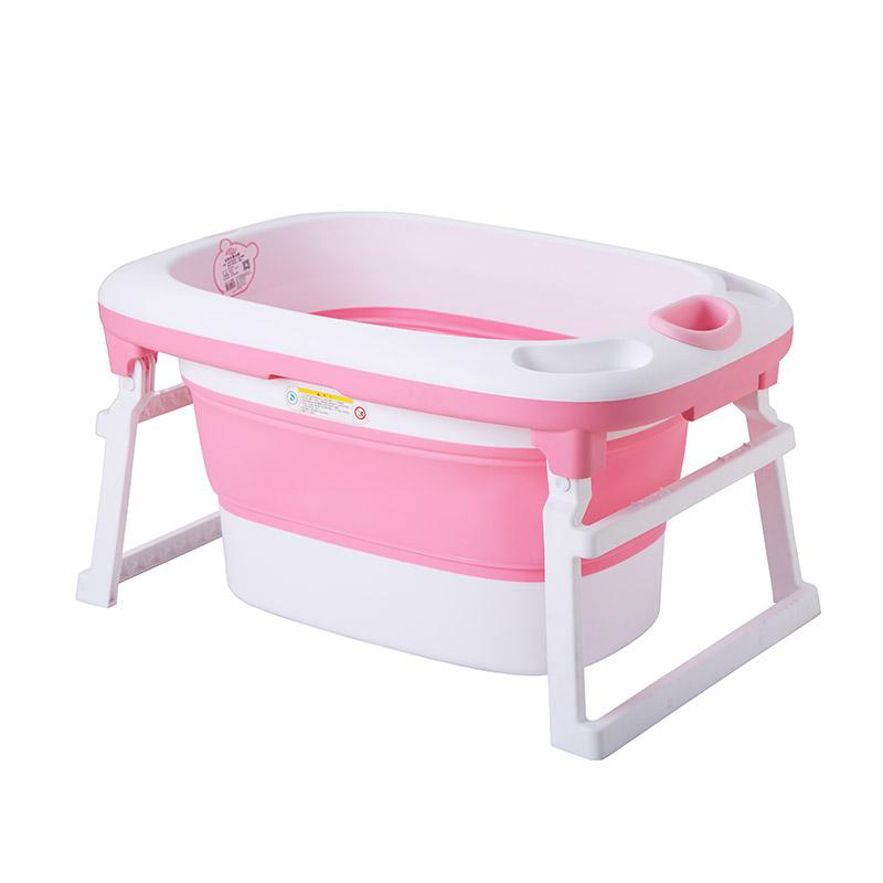 2018 Baby Folding Bath Tub Baby Swim Tubs Portable Folding Children ...