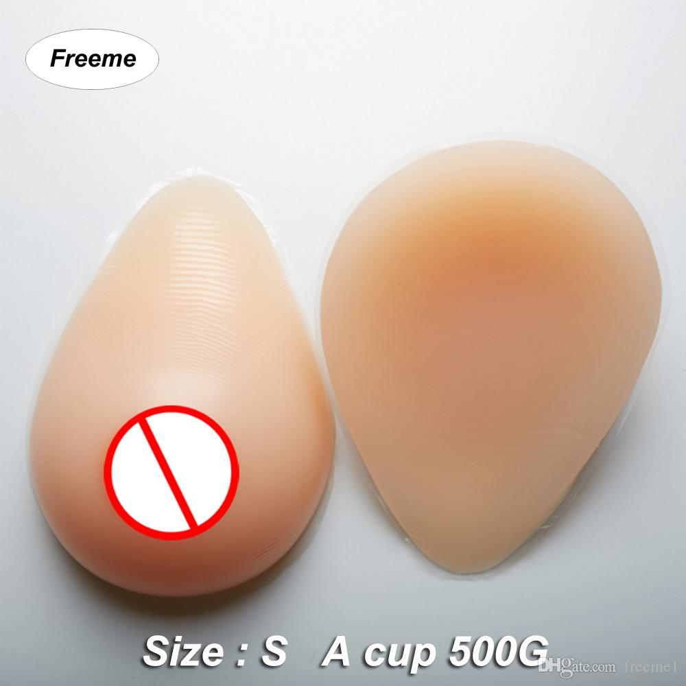 Freeme Crossdress Silicone Breast Forms A Cup 500G Pair Realistic  Artificial False Breasts Transgender And Crossdressing Fake Boobs Canada  2019 From Freeme1 ...