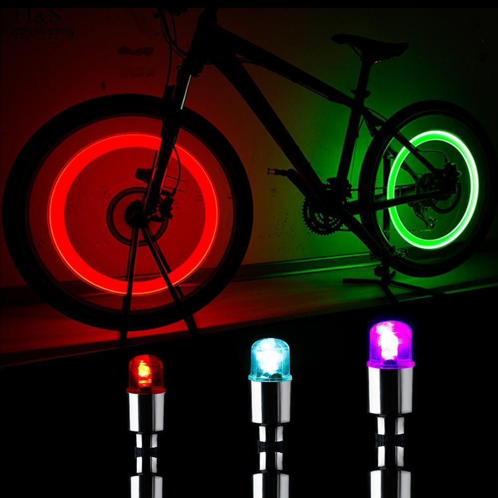 Compre Neumático Firefly Válvula Bicicleta Luz De La Bicicleta