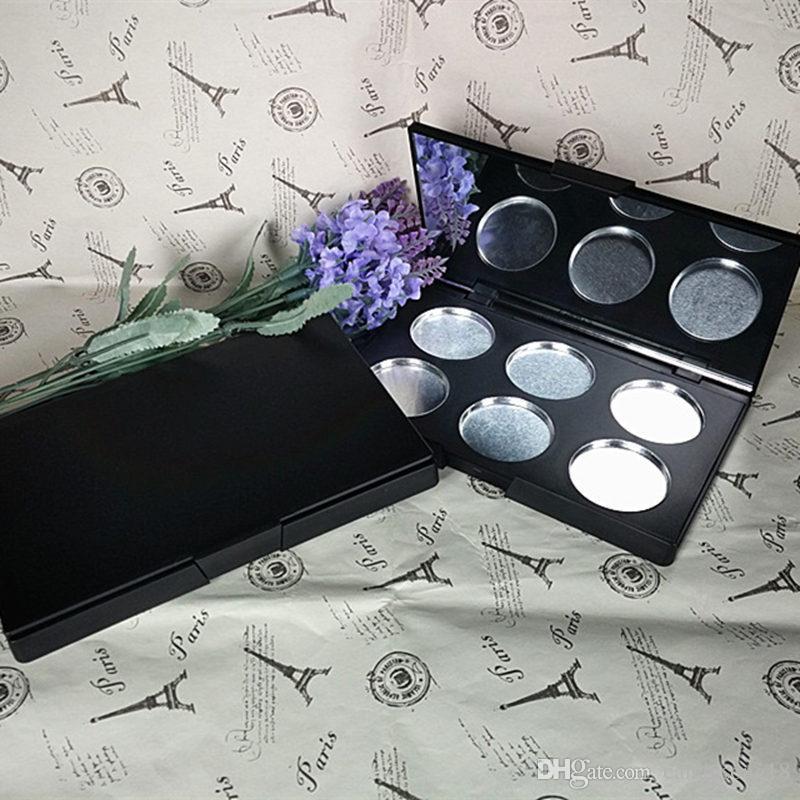Caixa de Toner 6 Caixa de Plástico Dispensando Placa de Pressão Batom Sombra de Olho 36.4mm de Diâmetro Ferramentas de Maquiagem Acessórios F345