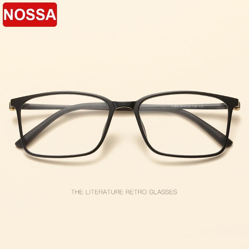 Compre De Alta Qualidade De Tungstênio Titânio Óculos De Aço De Plástico  Frame Clássico Óculos Quadrados Quadro Moda Homens Mulheres Espelho Plano  ... d0038e8a6d
