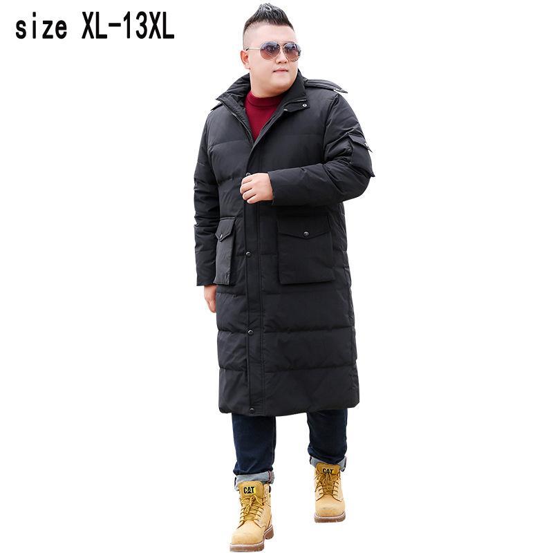 Großhandel Neue Dicke Warme Männer Daunenmäntel X Lange Extra Große Yards  Mantel Dick Lose Beiläufige Mantel Hohe Qualität Plus Größe Xl 11xl12xl13xl  Von ... 6d0d542ede