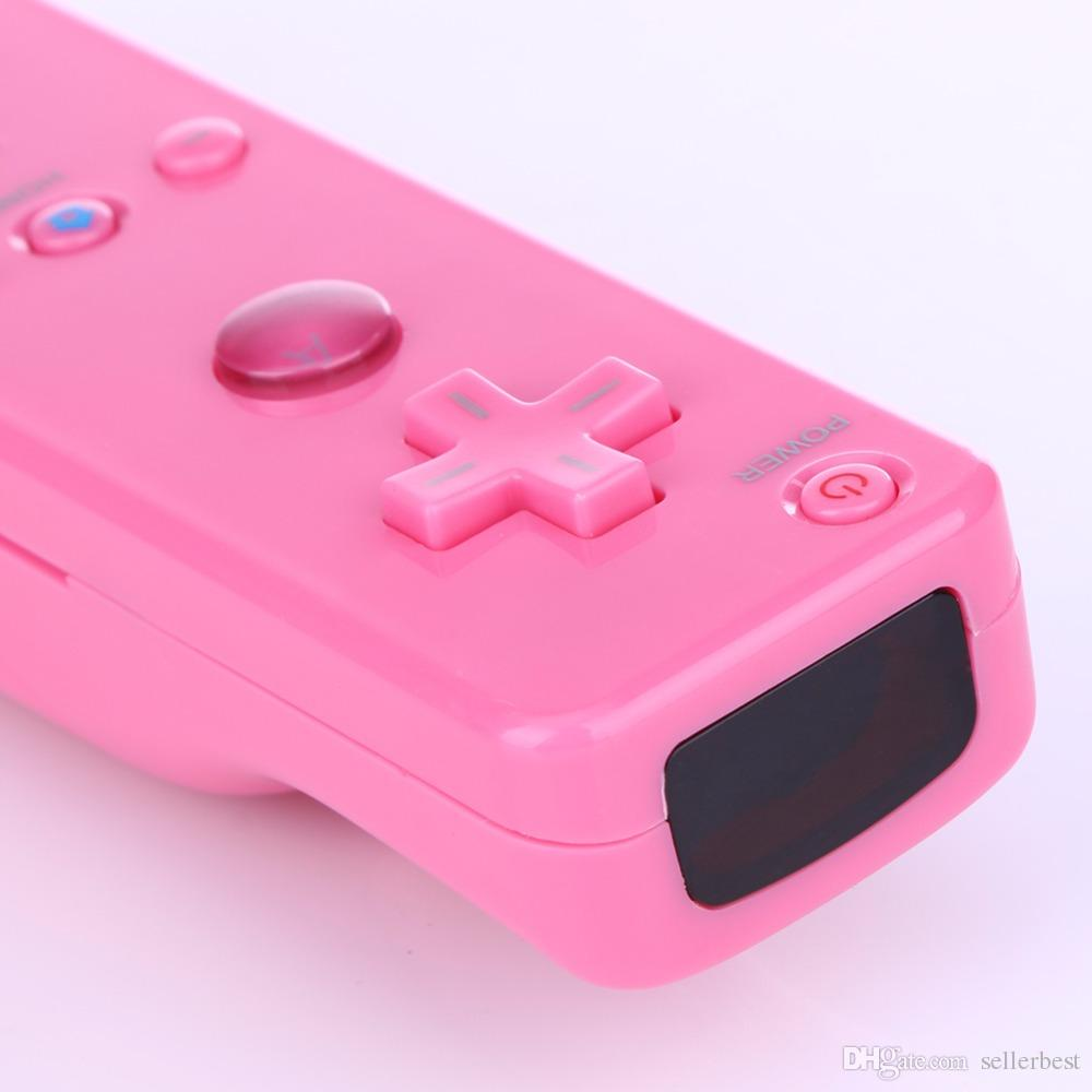 2 in 1 Wireless Gamepad Remote For Wii Built in Motion Plus Nunchuck Controller Case for Nintendo and for Wii Controle Silicone