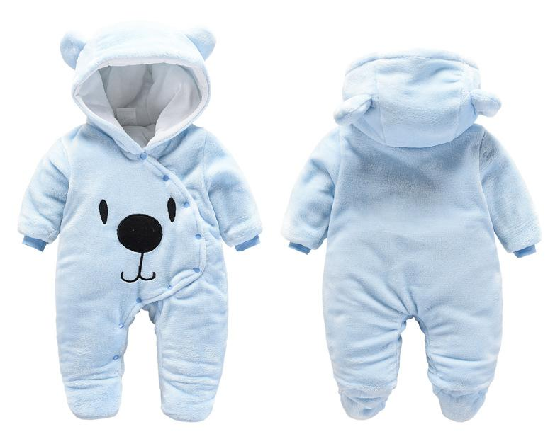 8f346d5e56da 2019 Baby Rompers Winter Newborn Clothing Todder Infant Cartoon Jumpsuit  Romper Babies Hooded Rompers Newborn Winter Snowsuit Clothes From  Babyhouse3