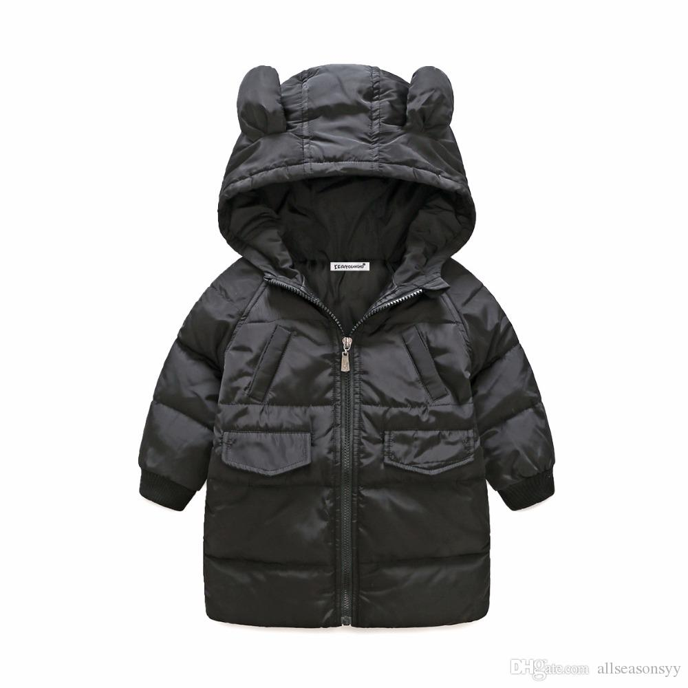 fbce1e27a053 Baby Boys Down Jacket Winter Jacket For Girls Jacket Kids Warm ...
