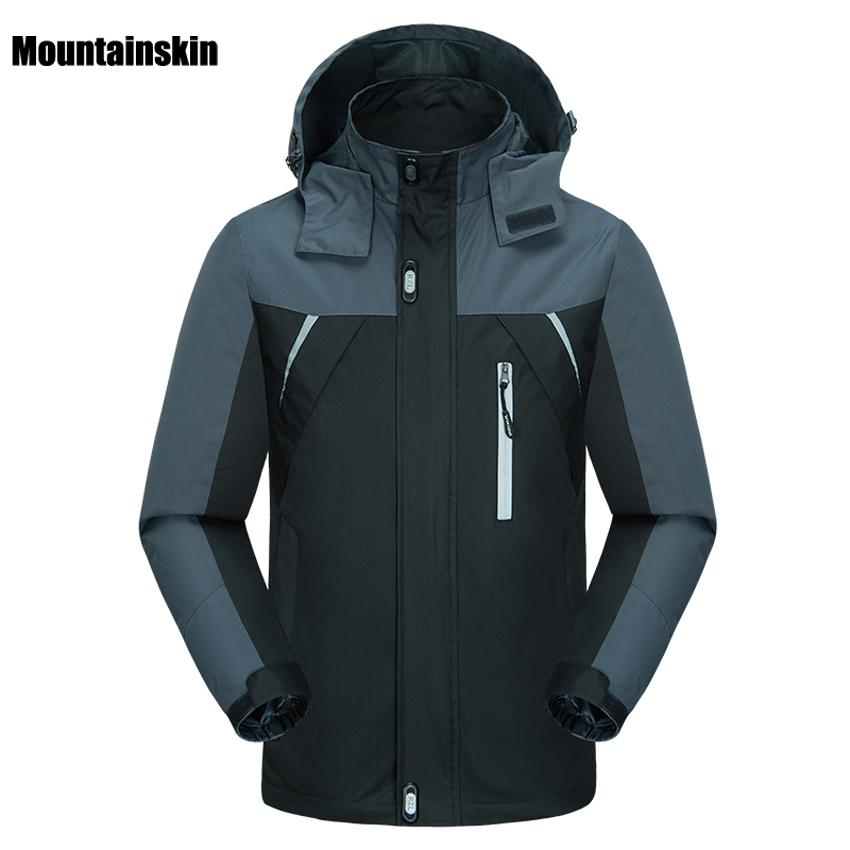 912007168df9d Mountainskin Men s Spring Breathable Waterproof Thin Jackets Outdoor ...
