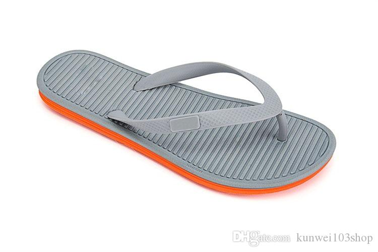 5236a4f3e114 Flip Flops Men Sandals Shoes For Casual Walking Beach Slides EVA Massage  Slippers Designer Flats Male Summer Mens Shoes Brown Boots Winter Boots For  Women ...