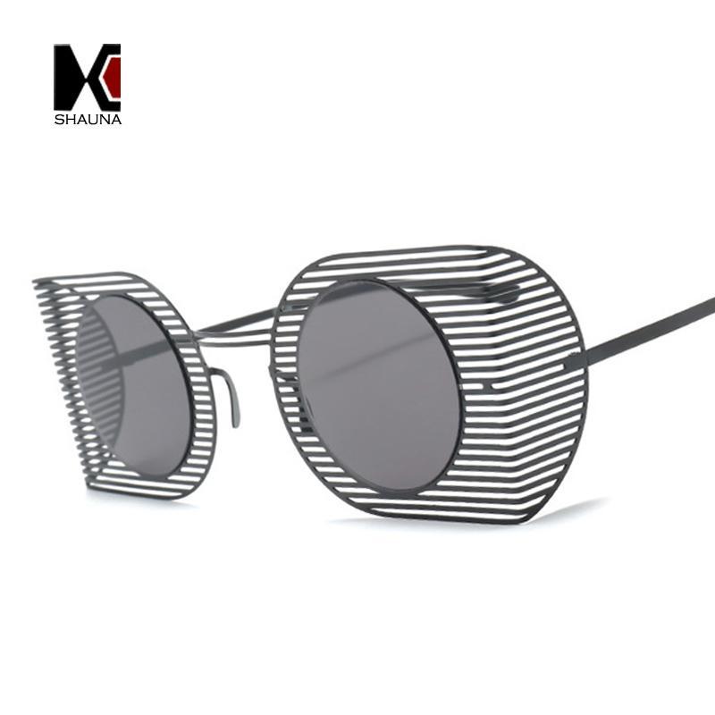 Shauna Ultralight Punk Style Women Goggle Sunglasses Fashion Hollow ...