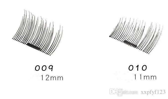 자기 눈 가위 3D 밍크 다시 사용할 수있는 가짜 속눈썹 연장 3d 속눈썹 확장 자기 속눈썹 메이크업 a170