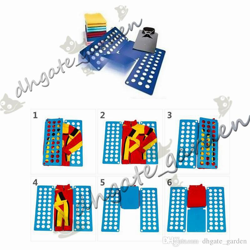 Clothes Folding Board Magic Fast Speed Folder Multi Functional Shirts Folding Board for Kids Children Garment