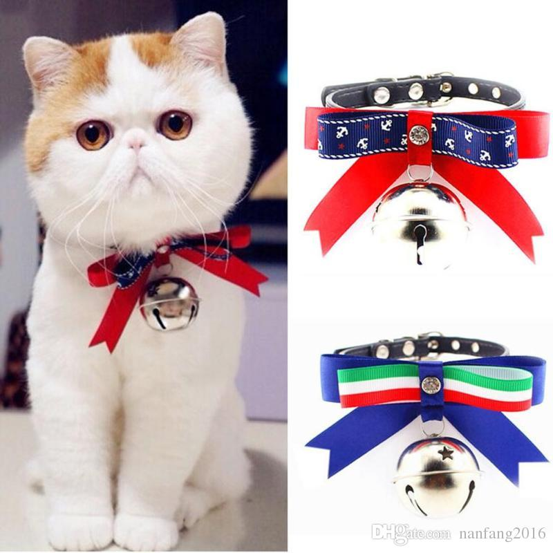 Dog Collar Bells Teddy Pets Harness Dog Leash Pet Products For Dogs Bow Tie  Collar For Cats Puppy Necklace Strap