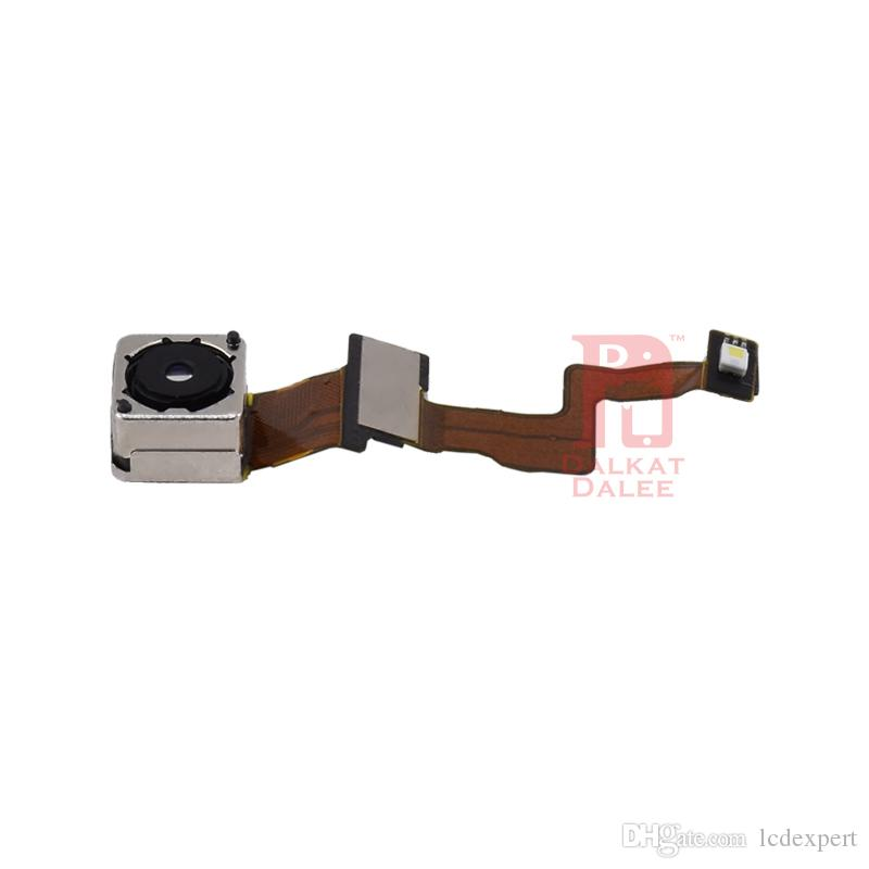 Back Camera With Flash Module Flex Cable Replacement Spare Parts For Apple iPhone 5 5G New 8 Million Pixels Big Rear Cam