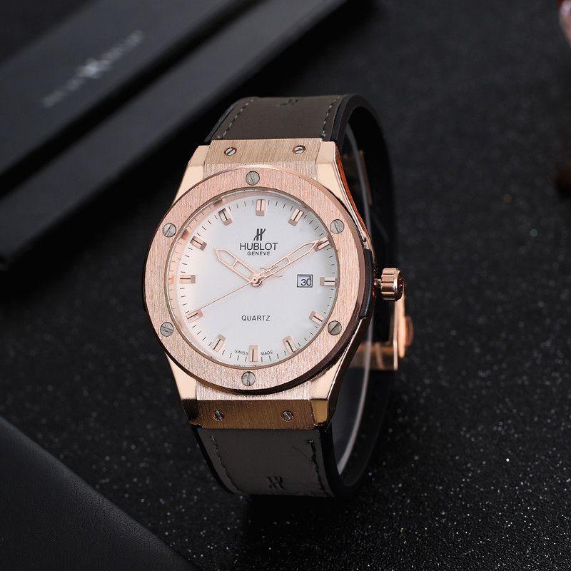 f6d0bf79452 Compre Aaa Luxo Mens Relógios Montre Homme Famosa Marca Designer Homens  Relógio Militar Moda Relógio De Pulso Cinza Hu Relógios De Pulso Homem De  Borracha ...