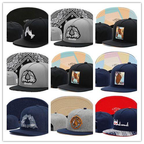 0c1d39270fc Cheap Basketball Snapback Leather Hats Cayler   Sons Cap Football Baseball  Team Hats Mix Match Order All Caps Flat Bill Hats Baseball Hat From  Hotcap10