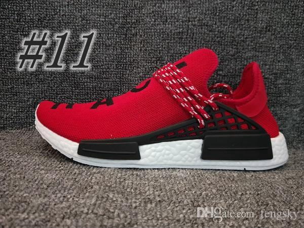 2019 Newest N*D Human Race R1 XR1 HU Trail Running Shoes Pharrell Runner Yellow Black White Red Green Grey Blue Sports Sneakers Big Size