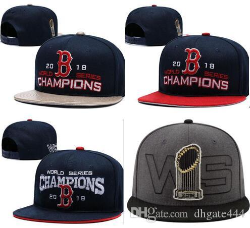 b58fd939ed5c6 2018 Red Sox CHAMPIONS CAP WS Champs HAT CAP UNISEX STRAPBACK BEANIE KNIT  Hat Snapback Adjustable Cap Ny Cap Mens Caps From Dhgate444