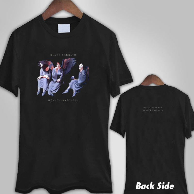Compre BLACK SABBATH HEAVEN AND HELL Camiseta Negra Para Hombres Camiseta  XS 3XL Moda Para El Verano Camiseta Para Hombre Camiseta De Manga Corta  Marca ... 149757a3a4179
