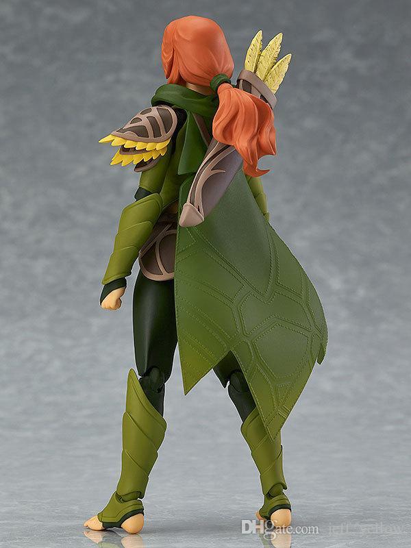 toy figure Doll DOTA Wind runner Sylvanas model Figure that can change