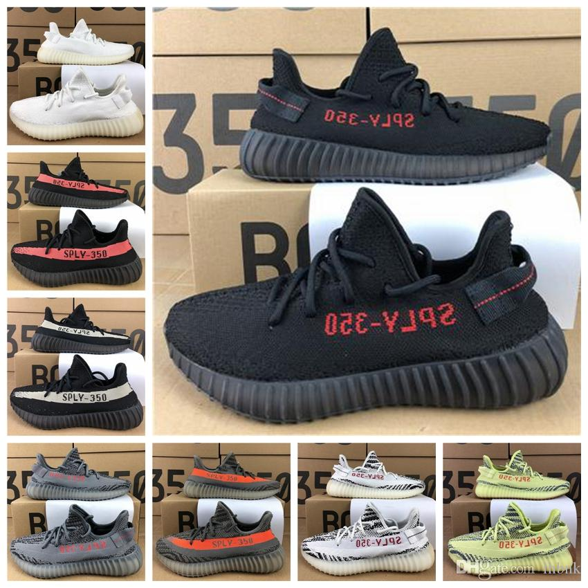 buy sale online cheap price from china With Box 2018 Cheap Mens and Womens Running Shoes 350 V2 SPLY-350 STEGRY BELUGA SOLRED Primenkit Sneakers Boots trainers affordable sale online 2melMeOu5