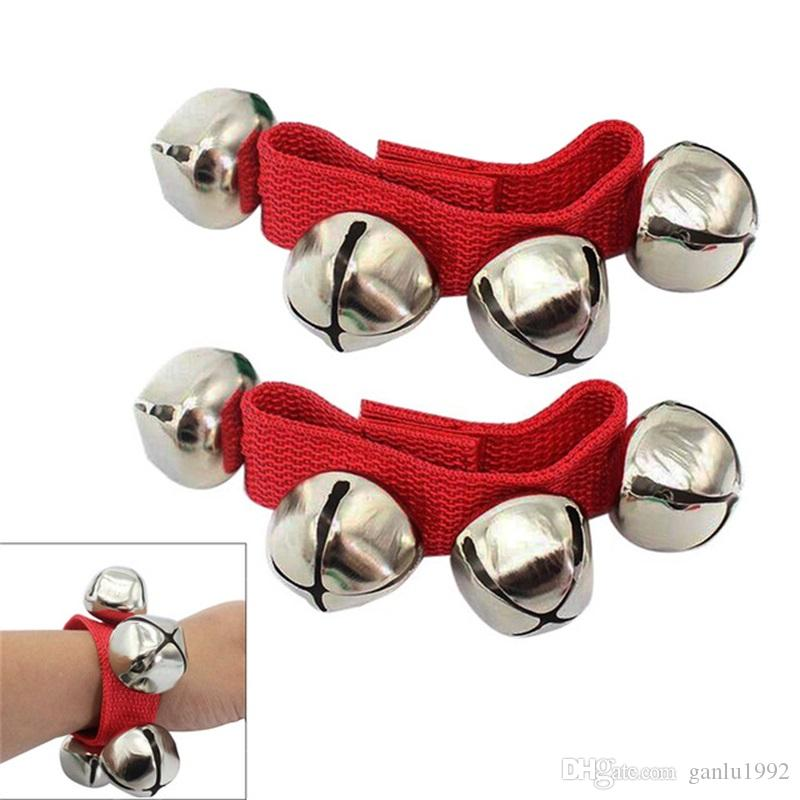 Multi Color Foot Bells Early Educational Dancing Accessories Toy Wrist Bell For Children 2 1rc C R