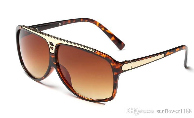 90a60a9d8 Compre NOVA Marca De Luxo Estilo 0350 Óculos De Sol Atitude Óculos De Sol  Quadro De Metal Quadrado Quadro Do Vintage Ao Ar Livre Projeto Clássico  Modelo ...