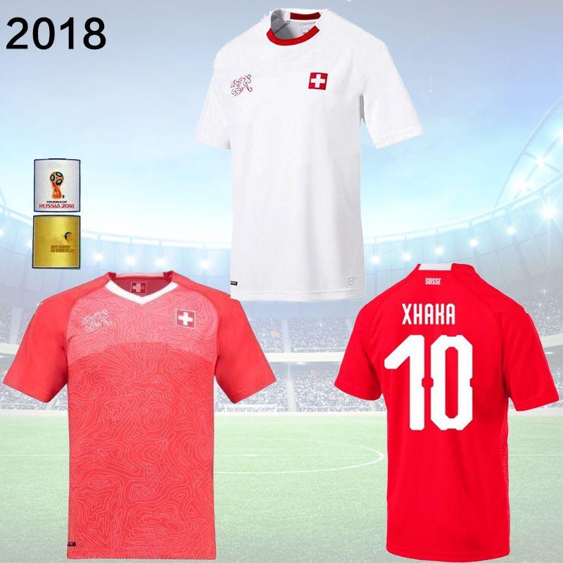 ba8686c6855 sweden switzerland 10 shaqiri away soccer country jersey 3bbbd 1cad2