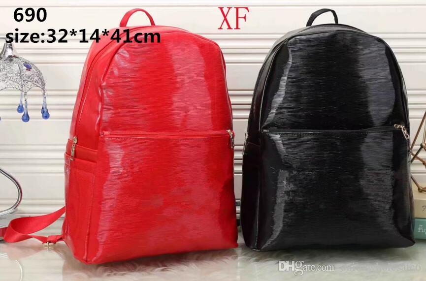 2f925990a New Fashion Women Backpacks Women's PU Leather Backpacks Girl School Bag  High Quality Ladies Bags Designer Bolsas