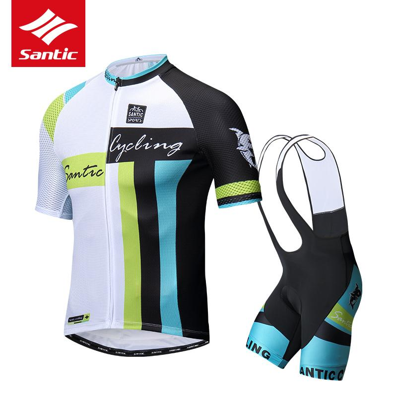 Santic 2019 Cycling Clothing Men Set Bike Clothing Breathable Anti UV  Bicycle Wear Short Sleeve Cycling Jersey Sets Cycling Clothes Padded Bike  Shorts From ... a1858de73