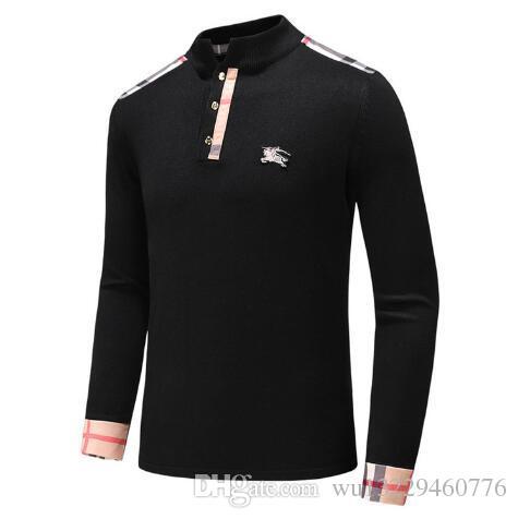 2017 New Arrival Men Sweater Fashion V Neck 9 Solid Color Plain ... 7d3ee173b