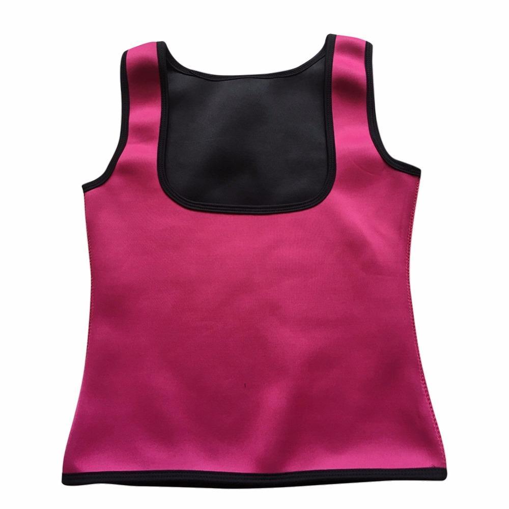 Women U style neoprene body shapers fat burner weight loss shapewear slimming waist trainer slim vest underbust waist cinchers