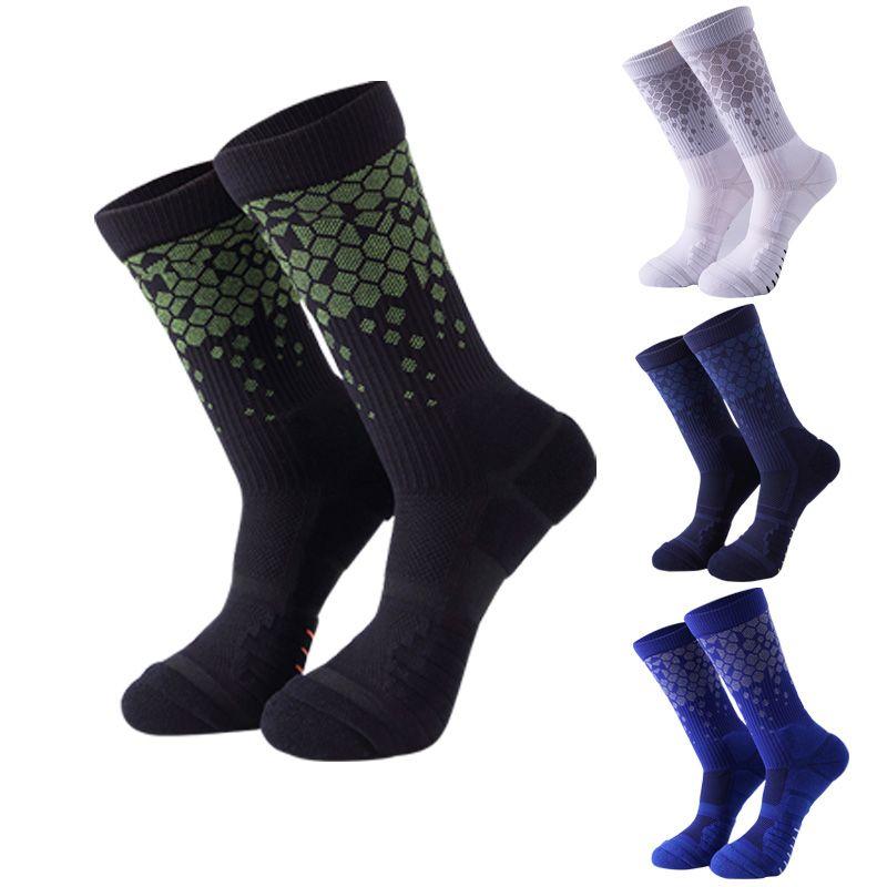 2019 Outdoor Sport Socks Men Women Boy Knee High Socks Warm Football Socks  Basketball Sports Anti Slip Cycling Climbing Running Sock Wholesale From ... 01a099936f