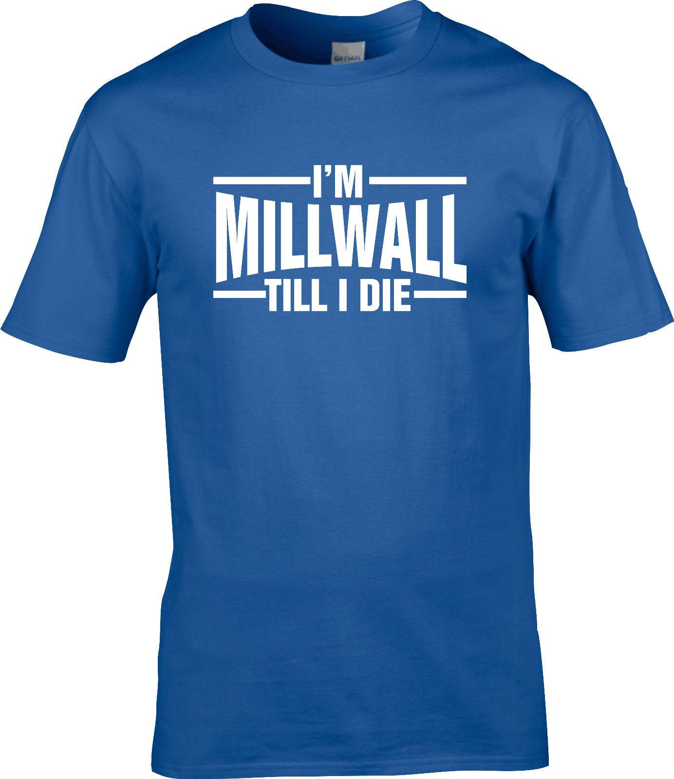 Millwall T Shirt Till I Die Football Online With 12 99 Piece On